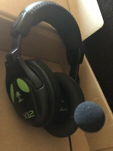 Turtle beach  ear force x12 head phones.