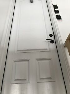 3 fiberglass exterior doors