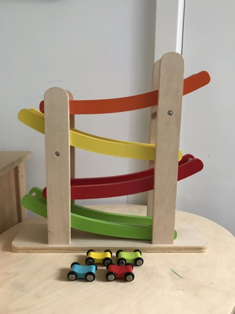 Car Roller Tracker Wooden Toy Toys Indoor Gumtree Australia