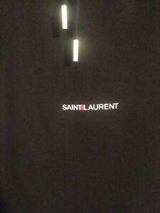 Saint Laurent Paris Small Logo Hoodie