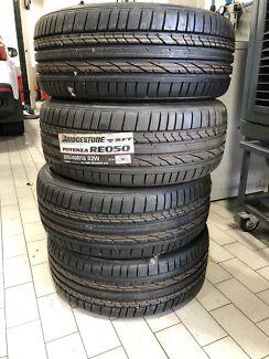 Bridgestone potenza 205/40R18 4 brand new tyres