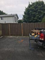 Fence repair and construction