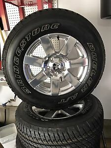18 inch tires  and rims  brand new