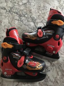 Lightening McQueen ice skates