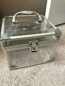 "Clear Glass ""Caboodle"" Bathroom Organizer"