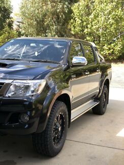 2013 SR5 Toyota Hilux Canberra City North Canberra Preview