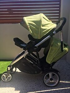Steelcraft Strider Compact with toddler seat. Halls Head Mandurah Area Preview