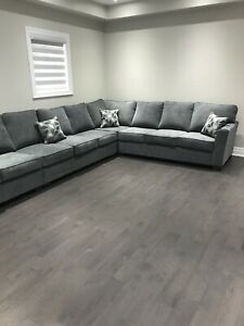 13 Seat Corner L-Shape Sofa [Brand New]