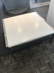 White Coffee table Dalkeith Nedlands Area Preview