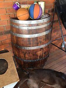 Half wine barrel restored Spearwood Cockburn Area Preview