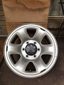 5 Steel 16x7 Genuine Toyota Wheels Rims Houghton Adelaide Hills Preview