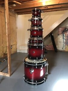 Tama Silverstar / DW Pedals / Cymbals Stands
