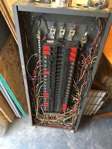 Panneau électrique commercial- doit partir