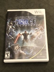 Star Wars The Force Unleashed - Wii - $10