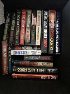 """James Patterson """"Alex Cross"""" books"""