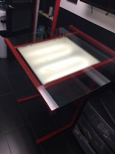 Light up tracing/drawing table