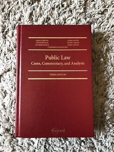 Public Law: Cases, commentary, and analysis 3rd edition