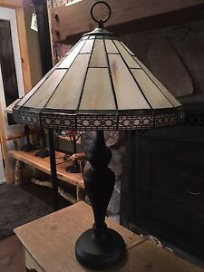 Roman style stained glass Lamp London Ontario image 2