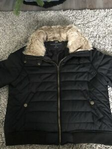 Women's winter coat jacket XXL Black From Aeropostale New