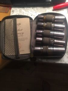 Saje 1 diffuser with 2 oils $50, oils in pack $35 not used
