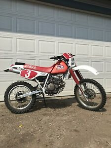 Mint Condition Honda XR250R Low Hours