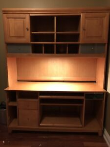 Desk and hutch  - make an offer