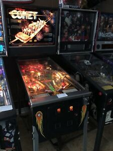 Comet Pinball Machine Williams Classic Arcade Game