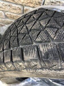 4 pneus hiver Blizzak 17 pouce
