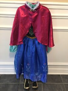 Disney Store's Brand Frozen Anna Dress and Accessories (7/8)