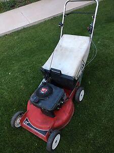 "Toro 21"" gas recycler(mulching)/rear bag, light weight mower"