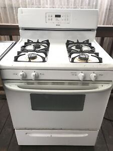 KENMORE Natural Gas range self cleansing oven