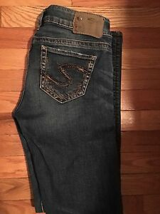 Silver jeans size 28