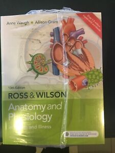 ROSS & WILSON ANATOMY & PHYSIOLOGY ed13 + WORKBOOK NEW EDITION 5 Mountain Creek Maroochydore Area Preview