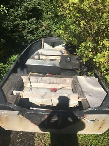 "14"" Aluminum boat no trailer"