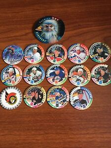 NHL Hockey Collectible Pogs!!