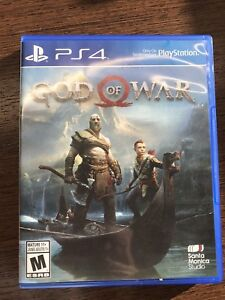 God of War PS4 - perfect condition with guarantee