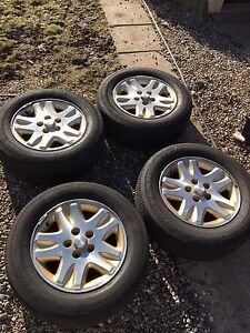 16 inch rims and tires off dodge caravan