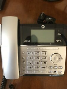 AT&T DECT 6.0 2 line phone with answering machine
