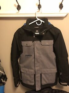 Boys youth large firefly winter coat