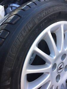 15 inch Acura Rims - 4 bolt