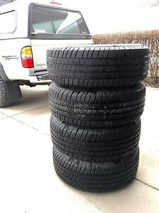 Michelin LTX M/S2 tires 265/70R16 on Toyota rims