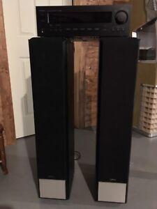 Kit stéréo TEAC AG-790 2X100w RMS  + Infinity Primus P-252