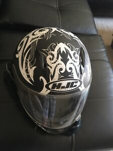 HJC XL motorcycle helmet