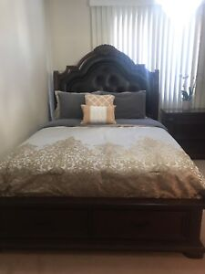 Need gone!!! Beautiful queen size bed