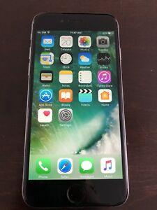 Iphone 6 (16gb-black) with rogers