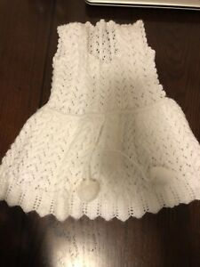 Girls knitted dresses and sweaters