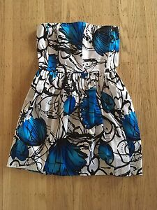 Never Worn strapless dress