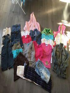 Vêtements 4-5 ans pour fille.