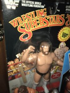 LJN Black Card Jim Duggan WWE WWF