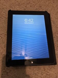 4th Gen. iPad 128gb with Targus Keyboard and carrying case